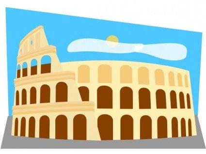 Roman Colosseum Clipart Picture Free Download.
