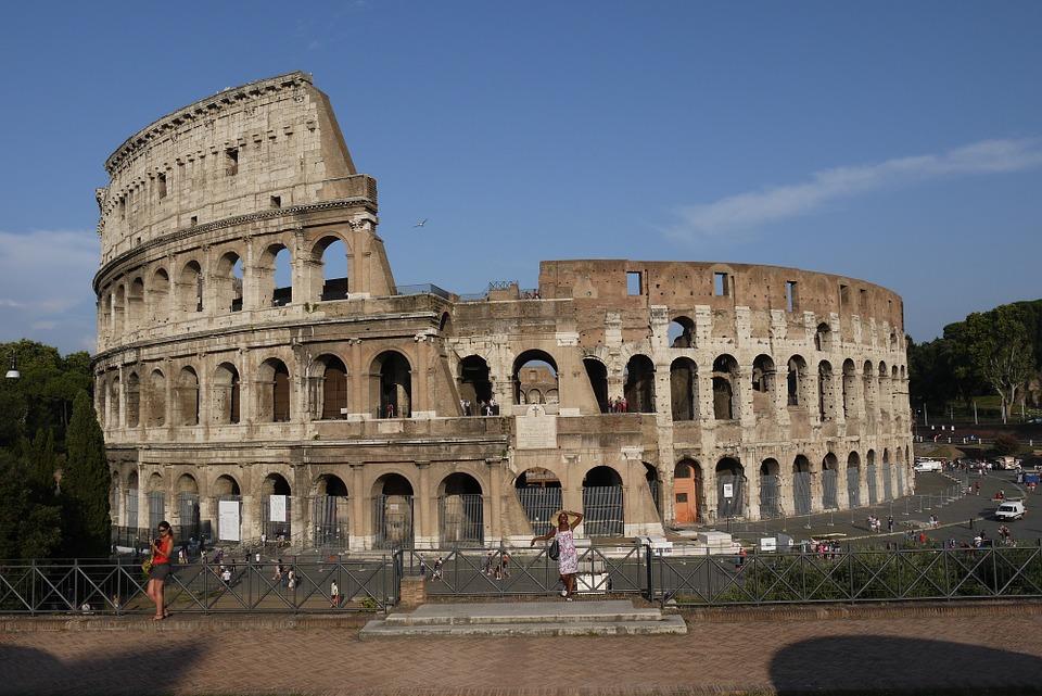 The, Coliseum.
