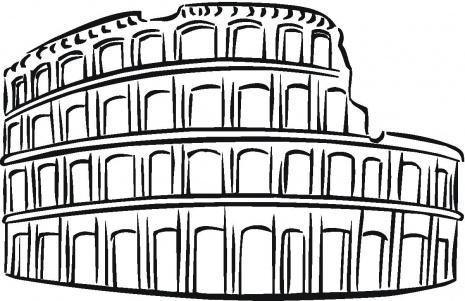 Colosseum Vector.