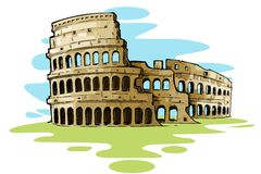Colosseum Stock Illustrations.