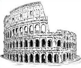 Free Roman Colosseum Clipart.