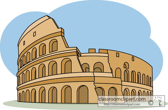Colosseum cliparts.