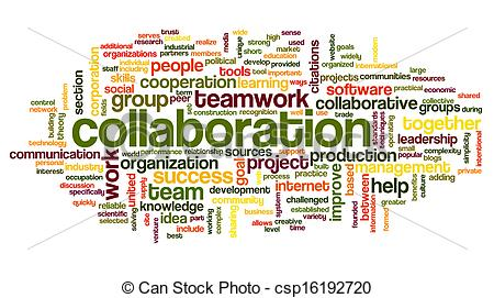 Collaborate clipart.