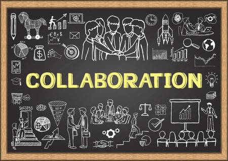 34,010 Collaboration Stock Vector Illustration And Royalty Free.