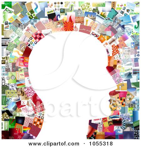 Collage clip art.