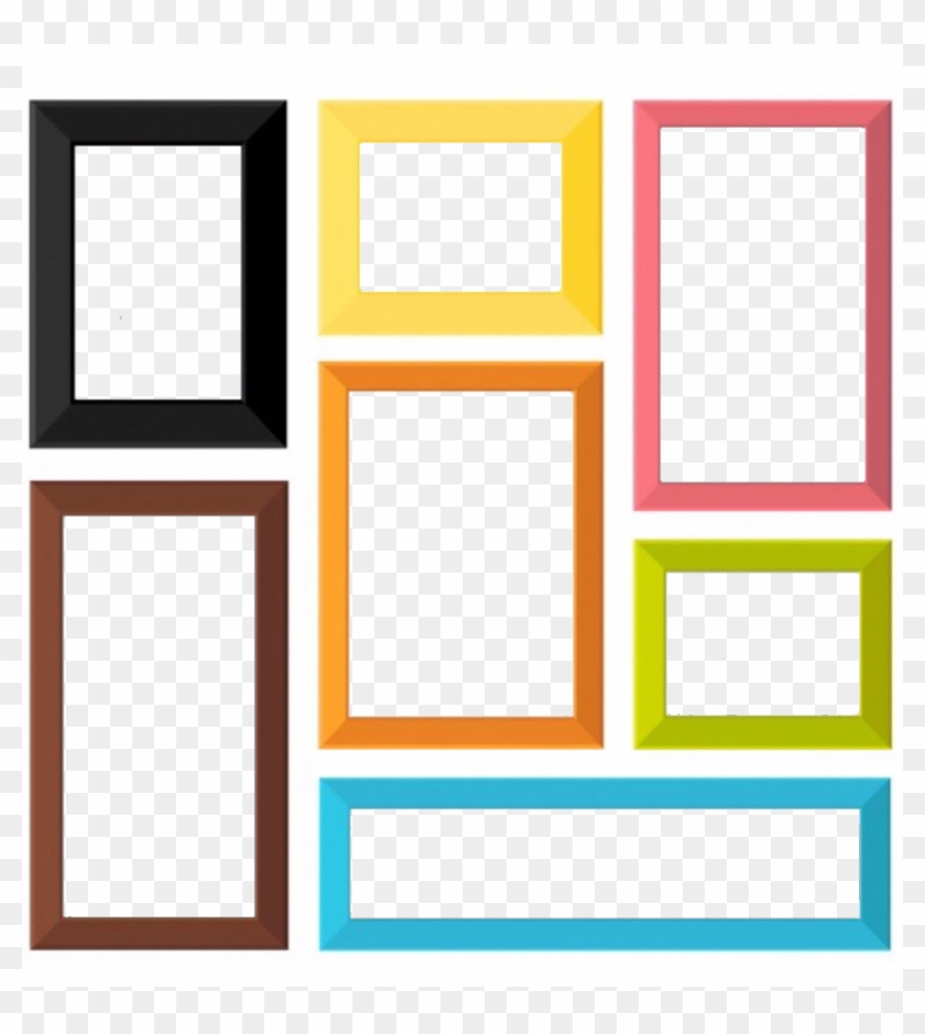 frames #wall #photos #collage #freetoedit, HD Png Download.