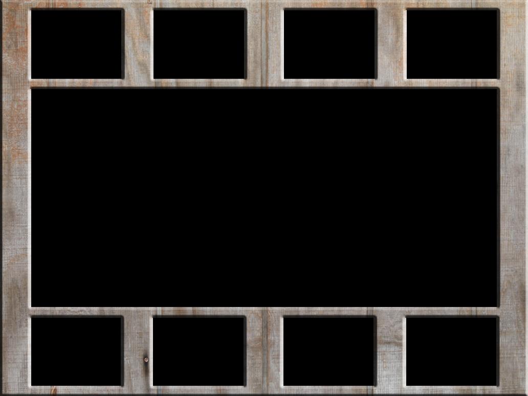 Collage Frame PNG Image Download.