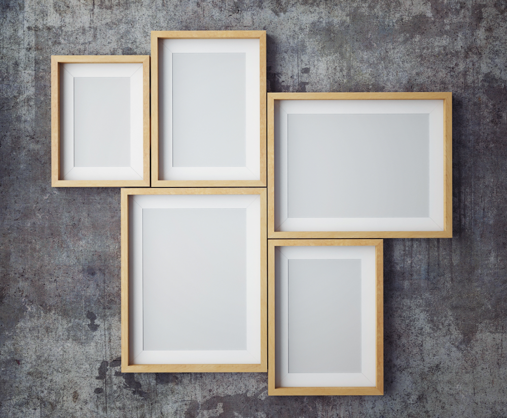 Photo Frame Collage Template Png.