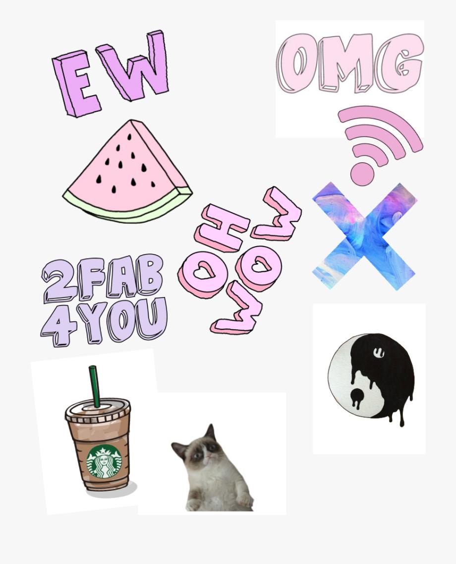 Kanye Transparent Tumblr Collage.