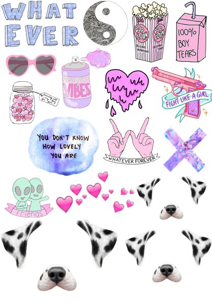 Tumblr Png Collage (108+ images in Collection) Page 1.