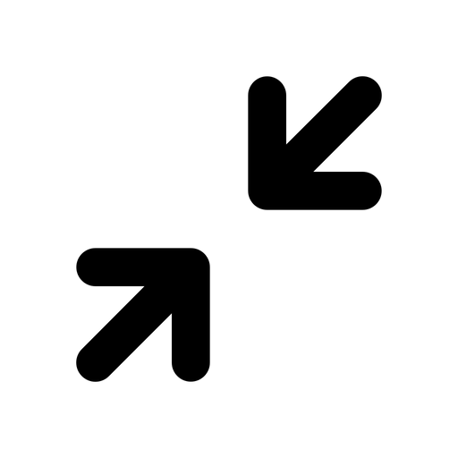 Collapse Icon of Line style.