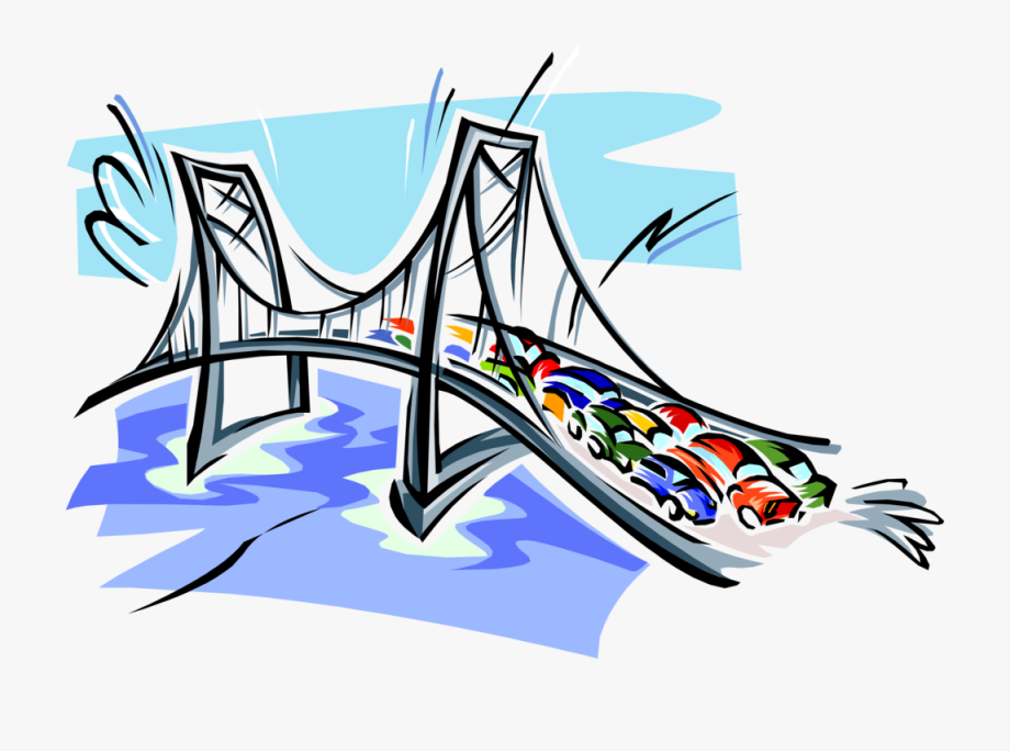 Collapsed Bridge Clip Art , Transparent Cartoon, Free.