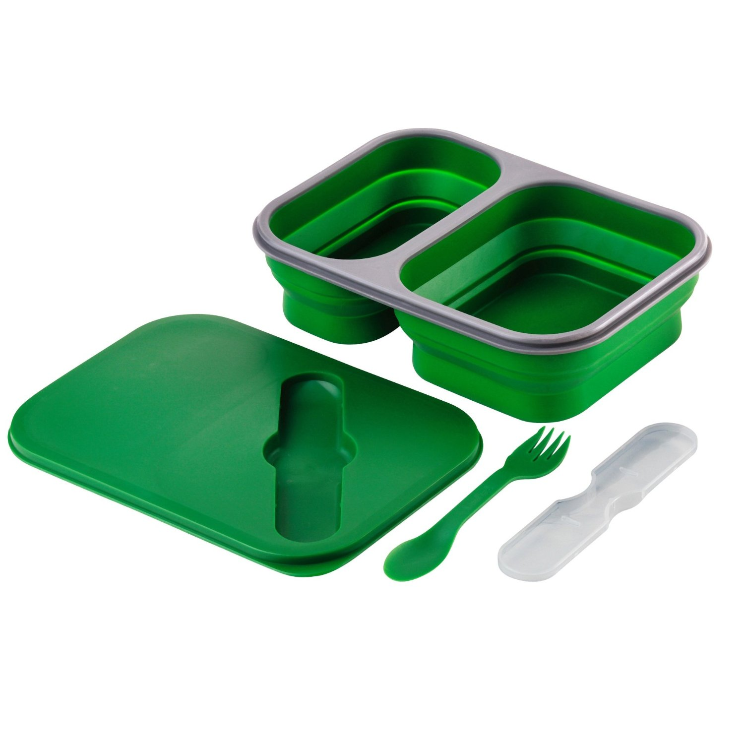 Foldable lunch containers clipart for preschoolers.