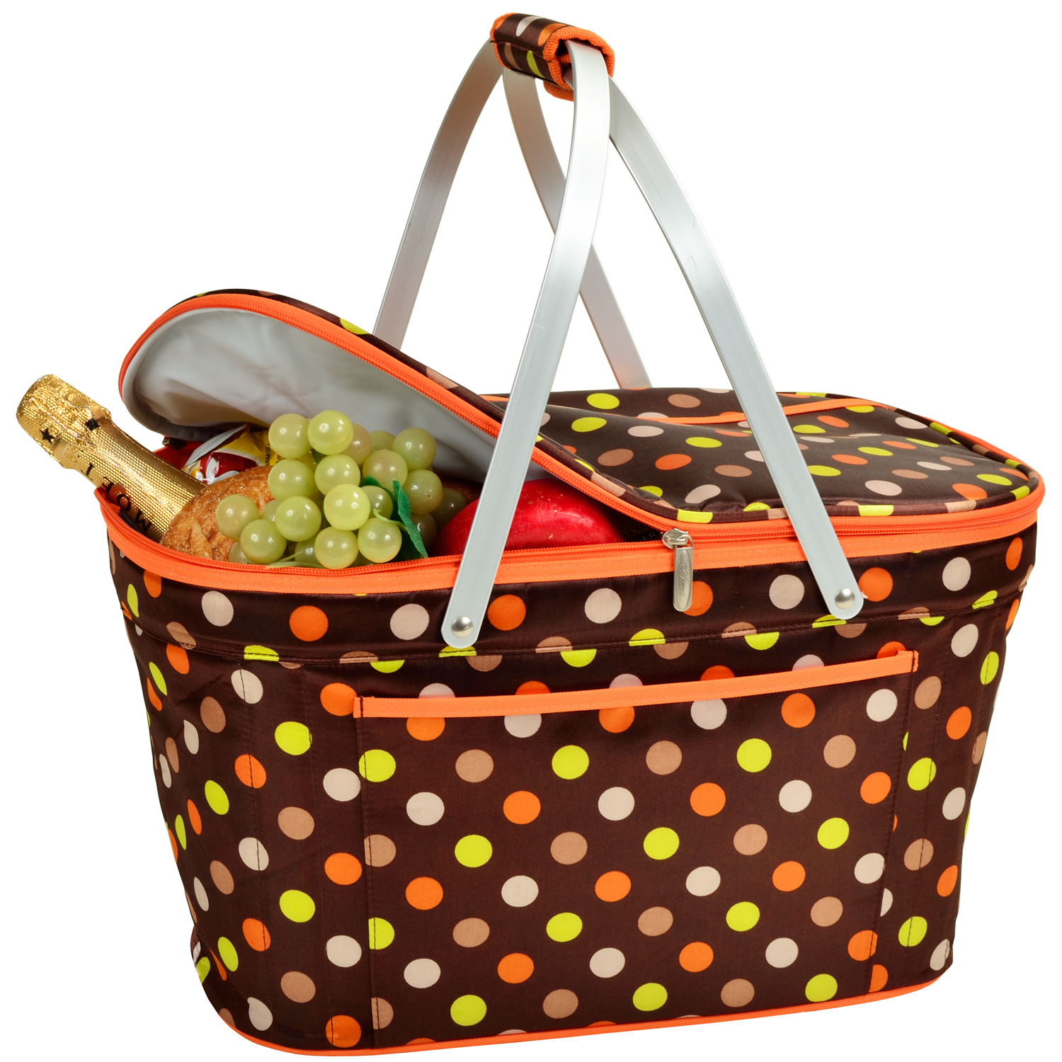 Picnic Basket With Ants Clip Art.