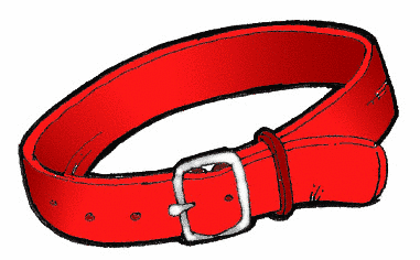 Dog Collar Clipart.