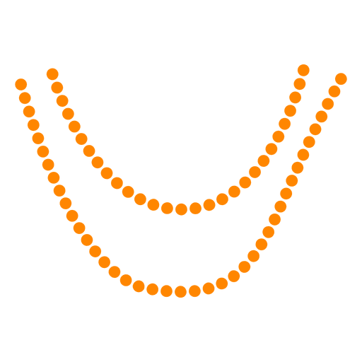 Necklace woman fashion.
