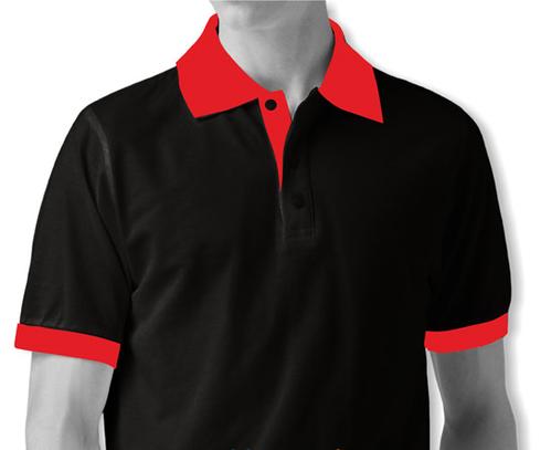 Solid Cotton Mens Polo T Shirts Plain.