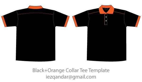 Free Black & Orange Collar T.