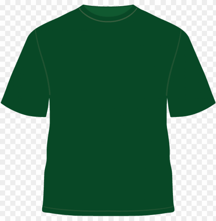 green t shirt template.
