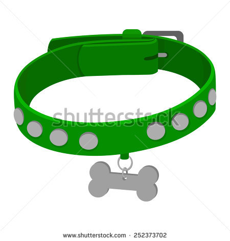 Spiked Dog Collar Stock Photos, Royalty.