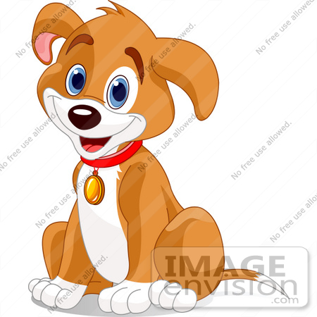 Image result for dog with collar clipart.