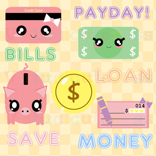 kawaii pay day clipart 20 free Cliparts | Download images ...