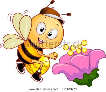 Pollen Stock Photos, Royalty.