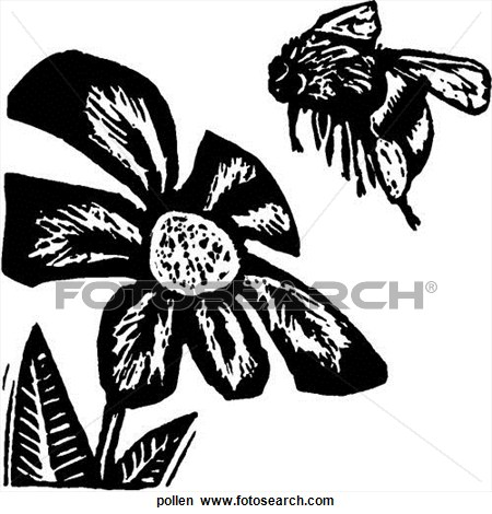 Pollen Clipart.