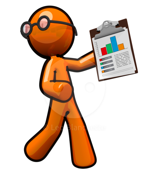 Data collection clipart.