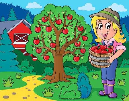2,424 Farm Girl Stock Illustrations, Cliparts And Royalty Free.