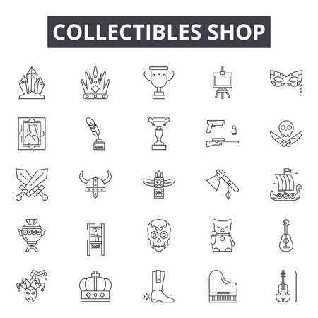 47 Collectables Stock Vector Illustration And Royalty Free.