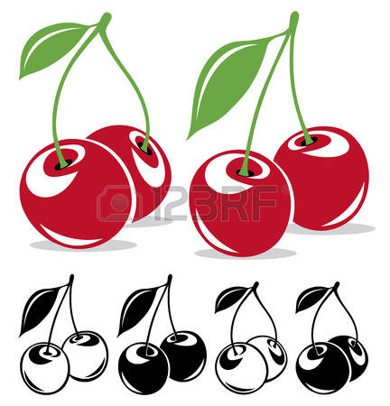 75,332 Cherry Stock Vector Illustration And Royalty Free Cherry.