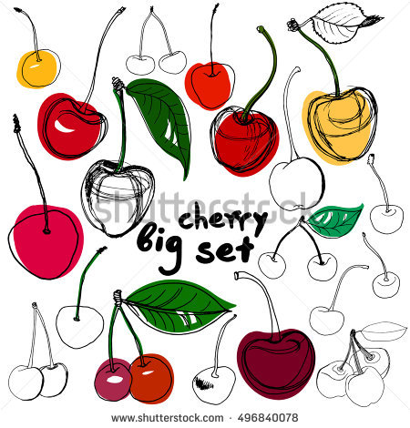 Cherry Stock Images, Royalty.
