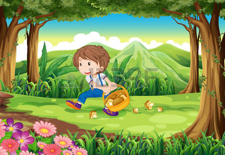 228 Picking Mushrooms Stock Illustrations, Cliparts And Royalty.
