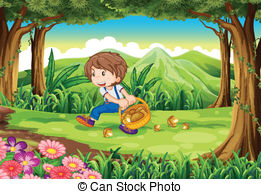 Picking mushrooms Illustrations and Clipart. 185 Picking mushrooms.