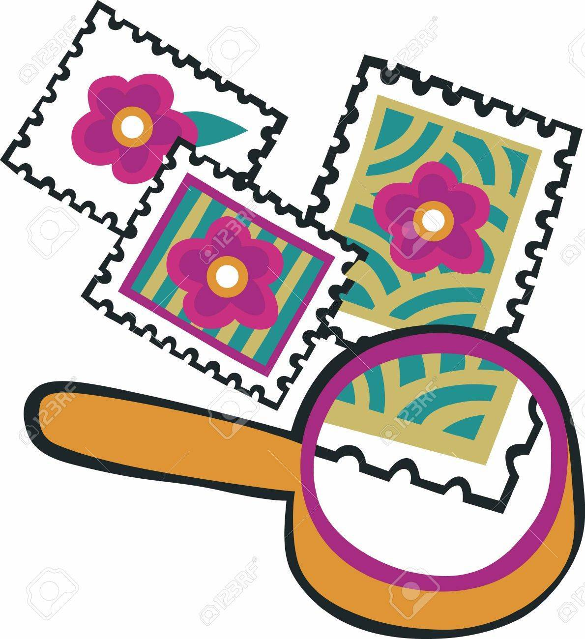 Collecting stamps clipart 2 » Clipart Portal.