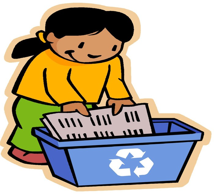 Recycle Paper Clipart.