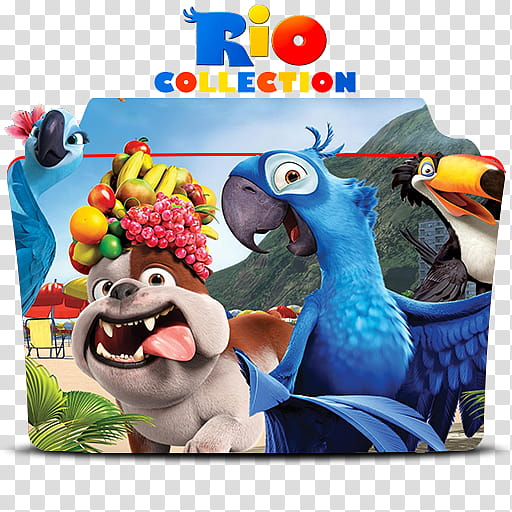 Blue Sky Studio Icon Folder Collection, Rio Movie Collection.