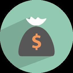 Dollar collection Icon.