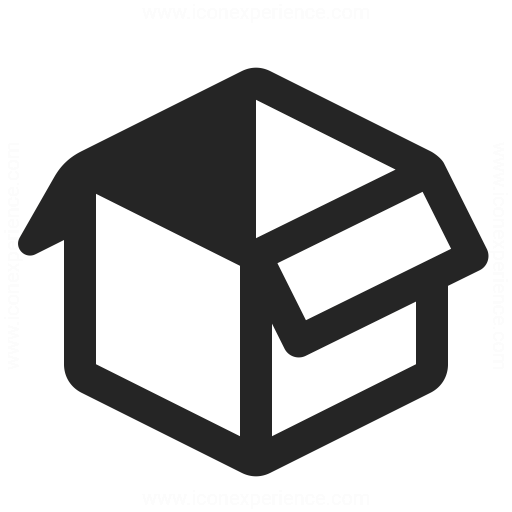 Box Open Icon.
