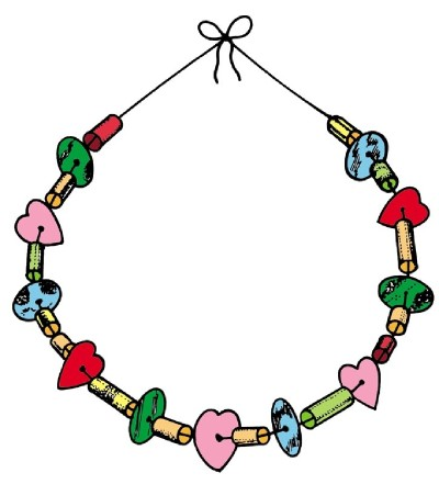 Beads and Baubles Necklace.