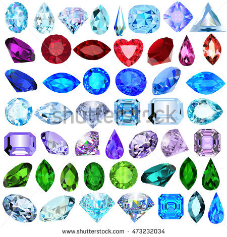 Precious Stones Stock Photos, Royalty.