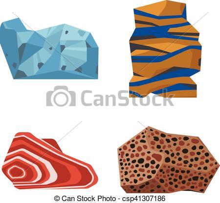Vector of Gemstones vector stones.
