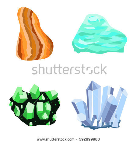 Semi Precious Stones Stock Photos, Royalty.