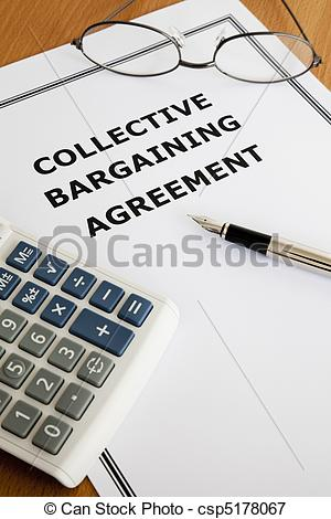 Collective Bargaining Clipart.