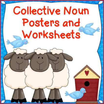 Collective nouns clipart.