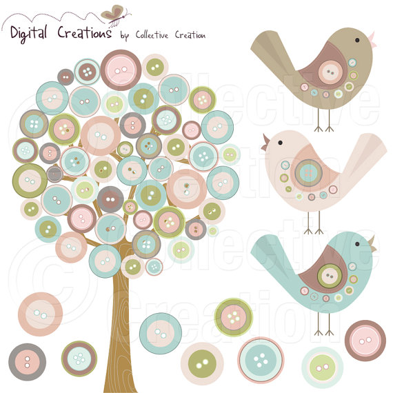 Digital Creations by Collective Creation Etsy clip art designer.