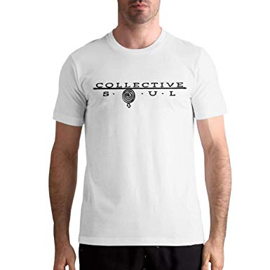 Amazon.com: Men\'s T Shirts Collective Soul Logo Creative Men.