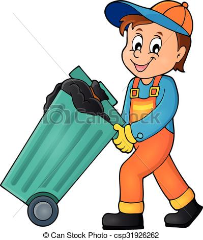 Garbage collector Clipart and Stock Illustrations. 137 Garbage.