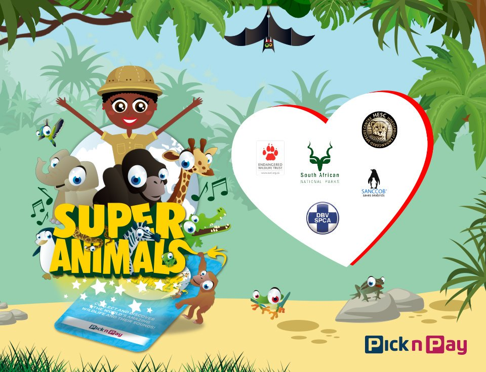 "Pick n Pay on Twitter: ""For every #PnPSuperAnimals Collector's."